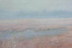 334. Hoge Veluwe in de mist  100x40    350 Euro